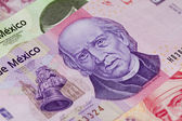 Mexican One Thousand Hidalgo Peso Bill — Stock Photo