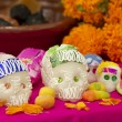 Day of the Dead Mexican Offering - Stock Photo