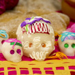 Mexican Skull Candy - Stock Photo