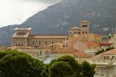 Monaco Palace Rooftops — Stock Photo