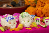 Day of the Dead Mexican Offering — Stock Photo