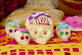 Mexicaanse skull candy — Stockfoto