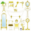 Royalty-Free Stock Vector Image: Bathroom