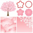 Cherry blossom background — Stock Vector #3975196