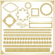Chinese decorative frame — Stock Photo