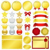 Gold decoration — Stock Photo