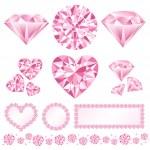 Pink daiamod — Stock Photo #4430543