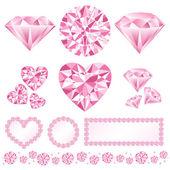 Pink daiamod — Stock Photo