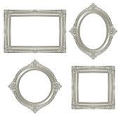 Zilver frame. — Stockfoto
