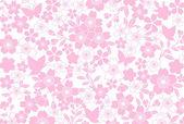 Cherry blossom background — Stock Photo