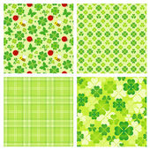 Clover pattern — Stockfoto