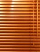 Fenêtre en bois aveugle — Photo