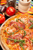 Pizza Omnivora — Stock Photo