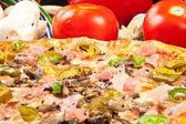 Verry hot pizza — Stock Photo