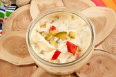 Mayonnaise Salad Dressing — Stock Photo