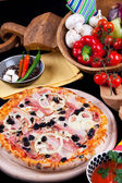 Pizza Quattro Stagioni — Stock Photo