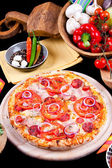 Pizza Speciala — Stock Photo