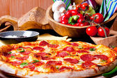 Pizza Mexicana — Stock Photo