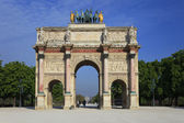 Arch of triumph karussell, paris — Stockfoto