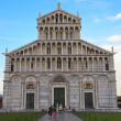 Cathedral of Pisa in Miracles square, Italy — Stock Photo #3965518