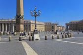 聖ペテロ広場、バチカン市国 — ストック写真
