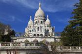 Базилика Сакре-Кер, Монмартр, Париж, Франция — Стоковое фото