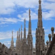The Duomo, Milan's cathedral — Foto de Stock