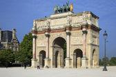Arch of triumph Carousel, Paris — Stock Photo