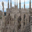 The Duomo, Milan's cathedral — Stock Photo
