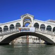 Bridge Rialtol in Venice. — Stockfoto