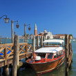 Boat at a mooring, Venice, Italy — Stock Photo