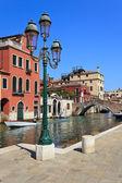 The Venetian street lamp — Stock Photo