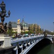 The Alexander III Bridge in Paris, France. — Stock Photo #4189263