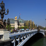 The Alexander III Bridge in Paris, France. — Stock Photo