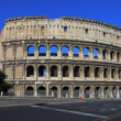 The Colosseum in Rome, Italy — Stock fotografie