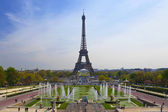 The Eiffel tower, Paris, France — Stock Photo