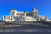 National Monument of Victor Emmanuel II, Rome, Italy. — Stock Photo
