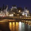 Hotel de Ville. City Hall of Paris - Stock Photo