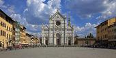 The Basilica Santa Croce, Florence, Italy — Stock Photo