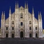 Catedral del Duomo de Milán, Italia — Foto de Stock