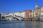 Bridge Rialto in Venice. — Stock Photo