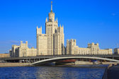 Stalin's Empire style building — Stock Photo