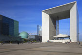 Grand Arch de La Defense, Paris — Stock Photo