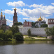 New Maidens' Convent (Novodevichy Monastery). Moscow, Russia. — Stock Photo