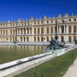 Stock Photo: Bronze statues in garden of Versailles. France