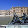 Bronze statues in garden of Versailles. France — Stock Photo