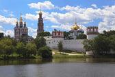 Nové dívky klášter (klášter novoděvičij). moskva, rusko. — Stock fotografie