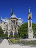 Notre Dame in Paris. — Stock Photo