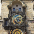 Stock Photo: Astronomical clock Orloj in Prague, Czech Republic