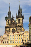 Church of Virgin Maria Before Tyn, Prague, Czech republic — Stock Photo